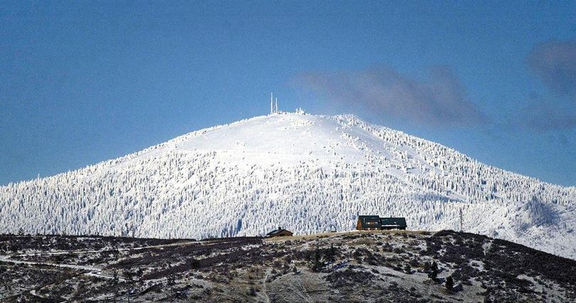 FILE – Mount Spokane in December 2003. (Steve  Thompson / The Spokesman-Review)