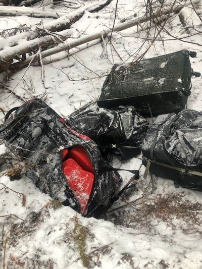 Border Patrol agents seized 84 pounds of cocaine and 198 pounds of meth near Bonners Ferry, Idaho, on Oct. 23.  (Courtesy of Bonners Ferry Station  Border Patrol)