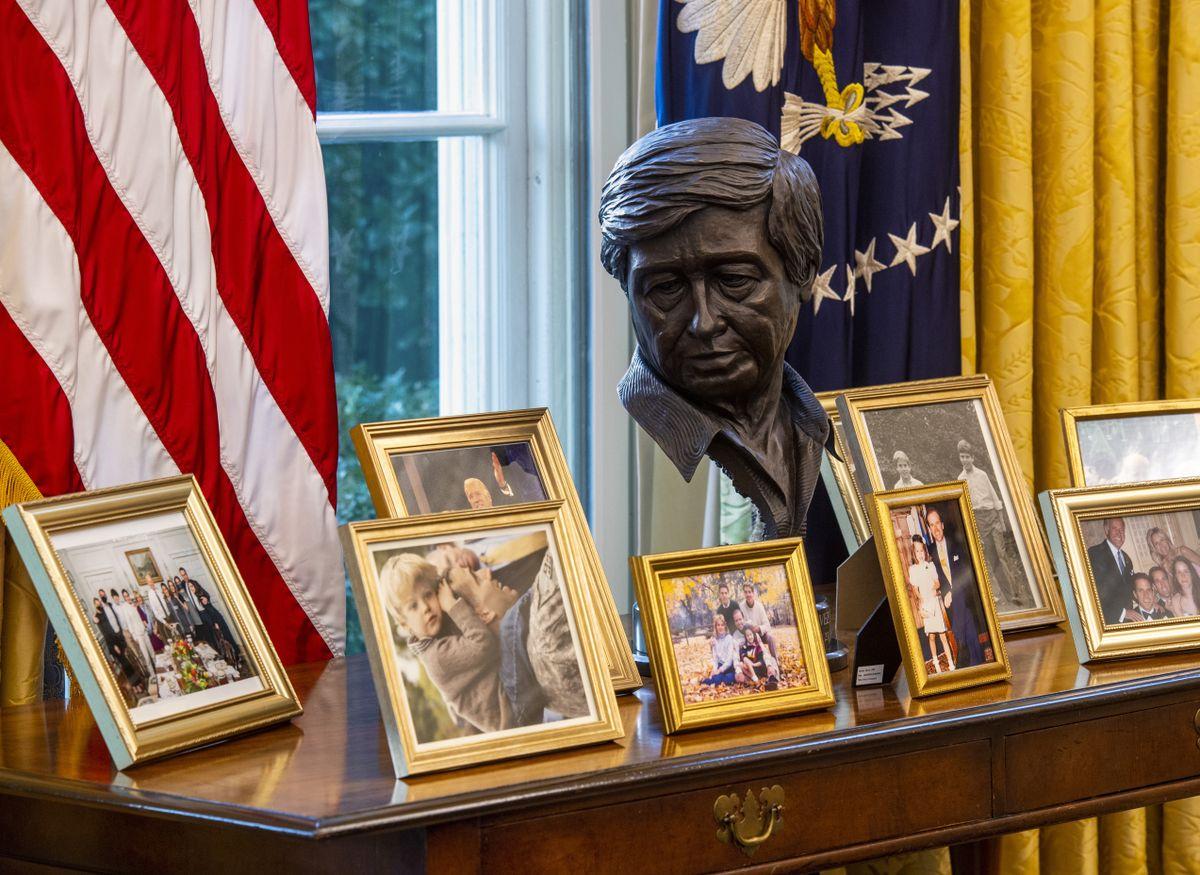 A Look Inside Biden S Oval Office The Spokesman Review