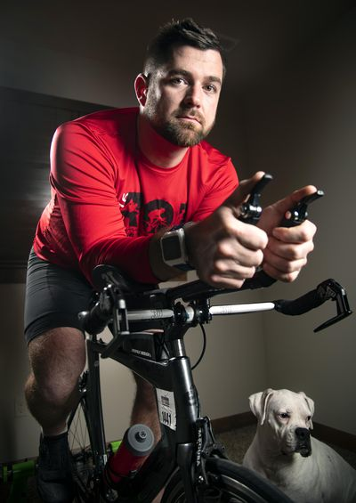 Spokane resident Peter Hagen has never let Type 1 diabetes hold him back from achieving his athletic and philanthropic dreams. (Colin Mulvany / The Spokesman-Review)