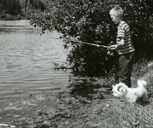 Fan Lake north of Spokane has been an angling destination for generations. It's also the home for Camp Reed. (The Spokesman-Review)
