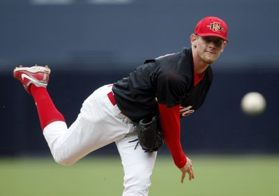 Stephen Strasburg is expected to be selected first by the Nationals. (Associated Press / The Spokesman-Review)
