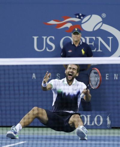 Winning the U.S. Open and $3 million creates the kind of reaction Croatia's Marin Cilic produced Monday. (Associated Press)