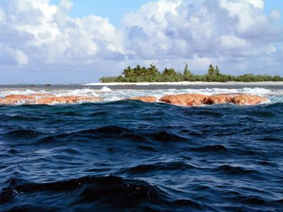 Rose Island is one of two small islands within the lagoon of Rose Atoll in American Samoa.  (Associated Press / The Spokesman-Review)