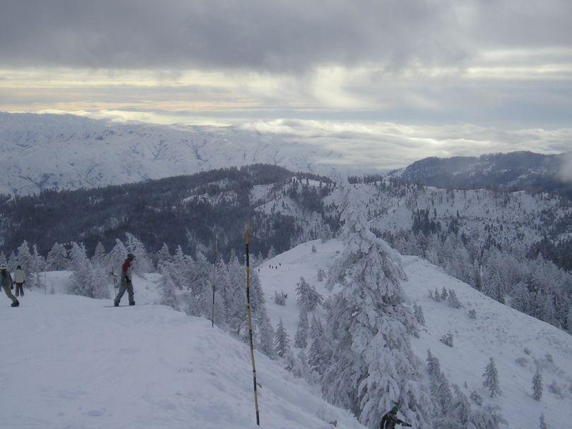 Bogus Basin ski area, Dec. 23, 2008 (Charlie Russell)