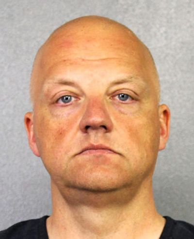 This January 2017 file photo provided by the Broward County Sheriff's Office shows German Volkswagen executive Oliver Schmidt. (Associated Press)