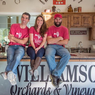 Mike Williamson, his sister, Beverly Williamson-Mack, and cousin Patrick Williamson co-own and operate Williamson Vineyards in the Sunnyslope Wine District in Caldwell.  (Williamson Vineyards)
