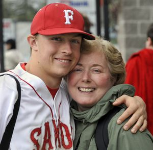 Ben Goodwin's mother, Mary, had a double-lung transplant. (Dan Pelle)