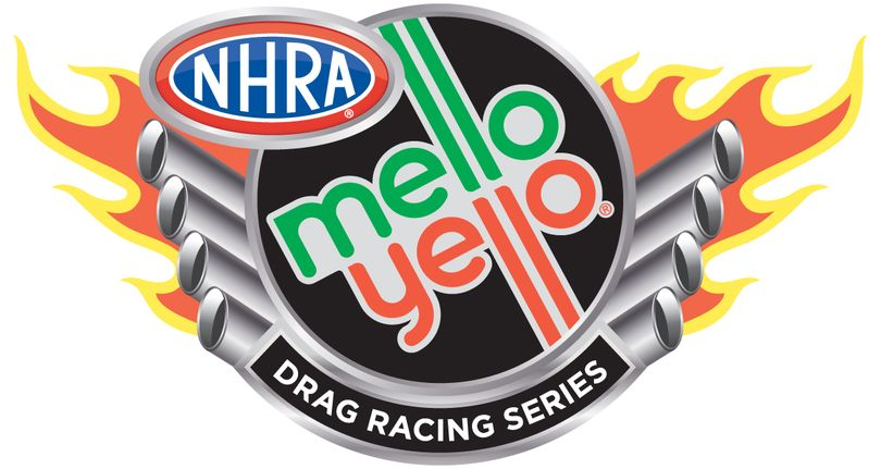 New look for the NHRA as they welcome Mello Yello as the title sponsor of their national tour. (Logo courtesy of the NHRA)