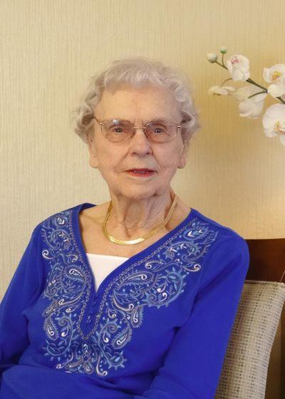Charlotte Grymonprez turned 100 on March 24, 2016. (Courtesy of family)