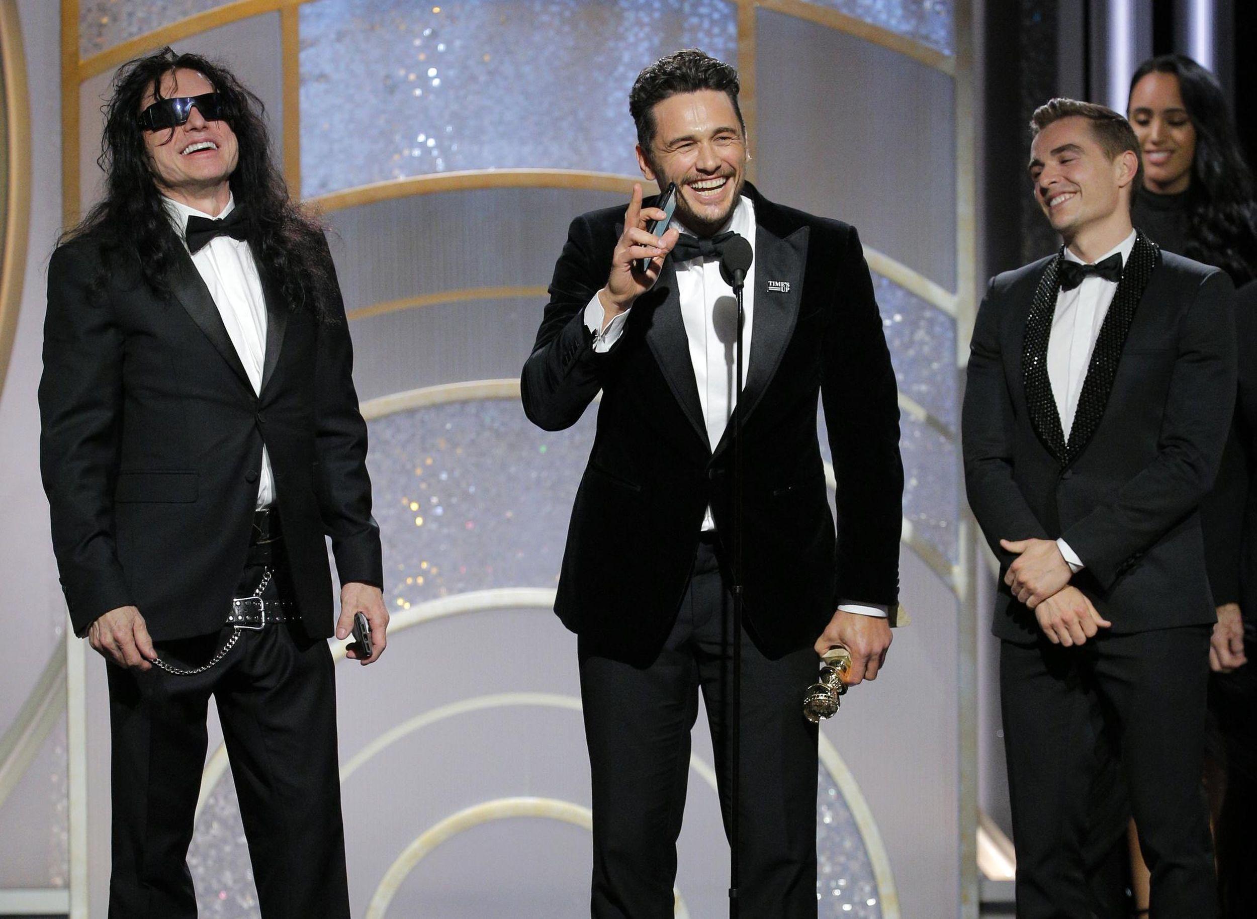 Oprah Three Billboards Triumph At Black Draped Globes The Spokesman Review