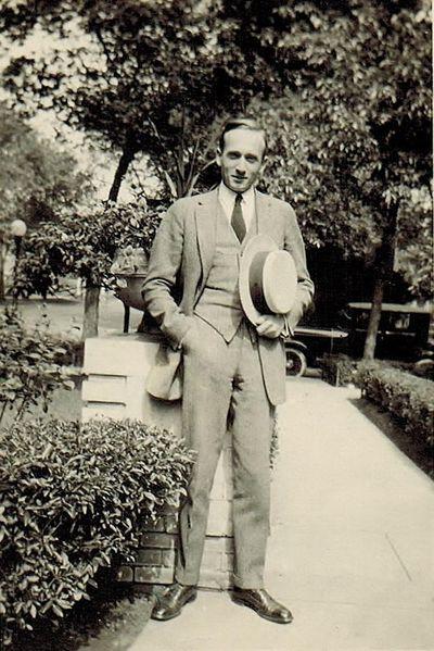 Robert Camden Sr., the grandfather of staff reporter Jim Camden, in Chicago in the 1920s (Camden family album)