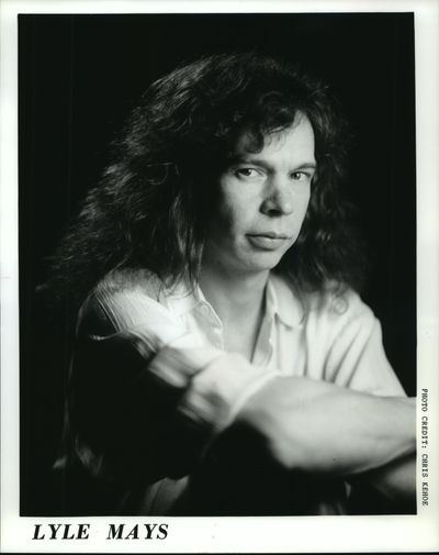 Lyle Mays, American jazz pianist and composer, in a 1982 press photo. (Chris Kehoe)