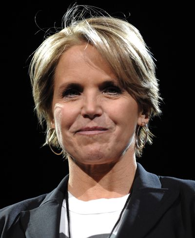 Katie Couric (Associated Press / The Spokesman-Review)