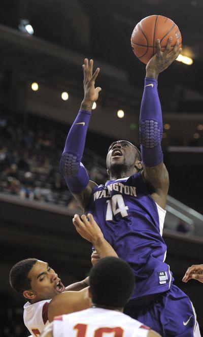 The Memphis Grizzlies waived former Washington guard Tony Wroten on Friday. (Mark J. Terrill / Associated Press)