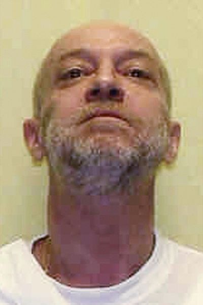 This undated file photo provided by the Ohio Department of Rehabilitation and Correction shows death row inmate Raymond Tibbetts, convicted of fatally stabbing Fred Hicks in 1997 in Cincinnati. (Uncredited / Associated Press)