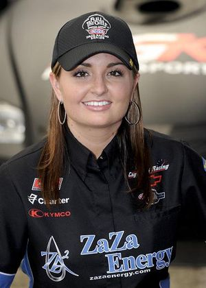 Erica Enders made NHRA history on July1 as she became the first female to win a national event in the NHRA Full Throttle Drag Racing Series Pro Stock division. (Photo courtesy of NHRA) (National Dragster)