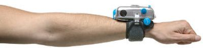 GoPro's Hero Camera is a waterproof 35mm camera that attaches to your wrist.  (The Spokesman-Review)