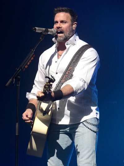 Troy Gentry of the Country Music duo Montgomery Gentry died Friday, Sept. 8, 2017, in a helicopter crash, according to a statement from the bands website. He was 50. The group was supposed to perform Friday at the Flying W Airport & Resort in Medford, N.J. (Owen Sweeney / Invision/AP)