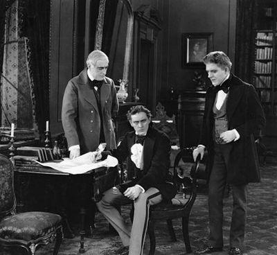 "A screengrab from ""Dr. Kelly & Mr. Hyde"" (1920).  (IMDb)"