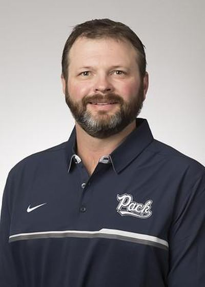 Nevada offensive line coach Mason Miller has reportedly accepted the same position at Washington State. (Nevada Athletics)