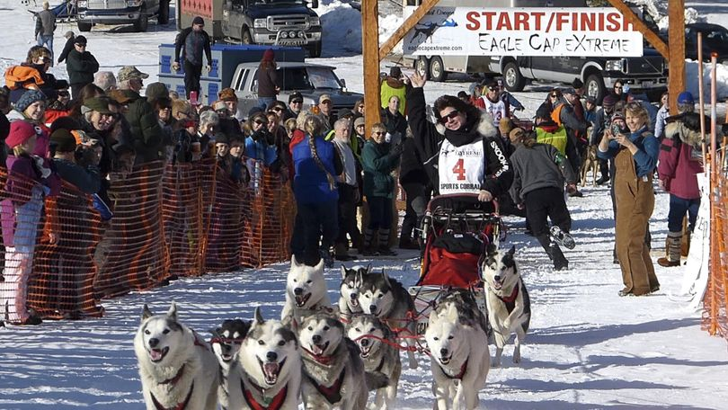 Northeastern Oregon's Eagle Cap Extreme sled dog is one of six qualifiers in the lower 48 for the Iditarod and Yukon Quest sled dog races. (Eagle Cap Extreme)