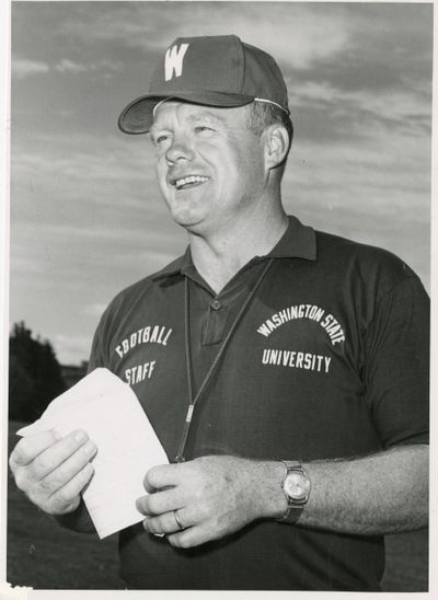 Former WSU football coach Jim Sweeney. (FILE)