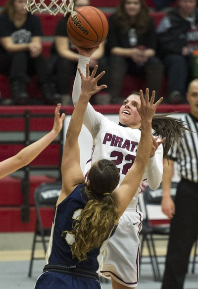 Whitworth's Lexie Zappone (22) is fourth on the team in scoring and first in steals. (Colin Mulvany)