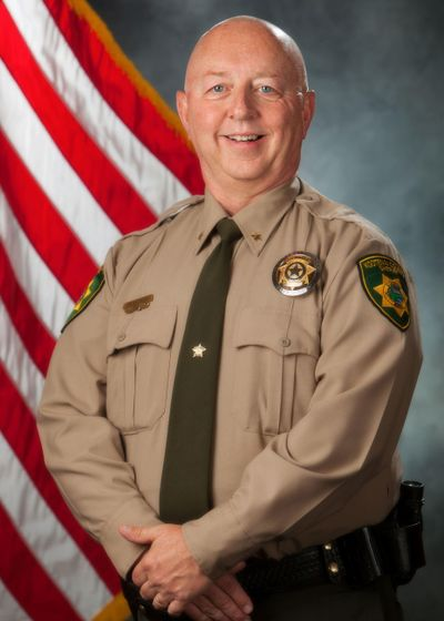 Kootenai County Sheriff Ben Wolfinger (Courtesy of Kootenai County Sheriff's Office)