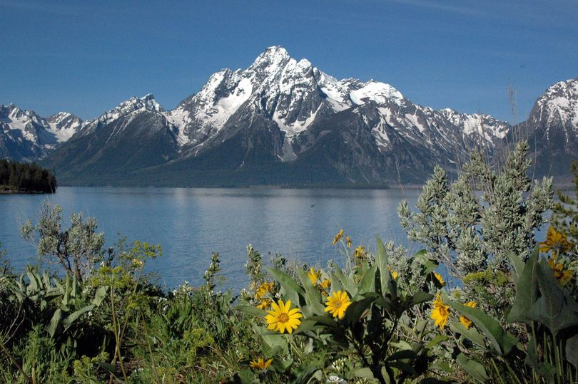 A visitor doesn't have to be a technical rock climber to enjoy easy hikes into Grand Teton National Park's interior. (MIKE BRODWATER Special to the S-R)