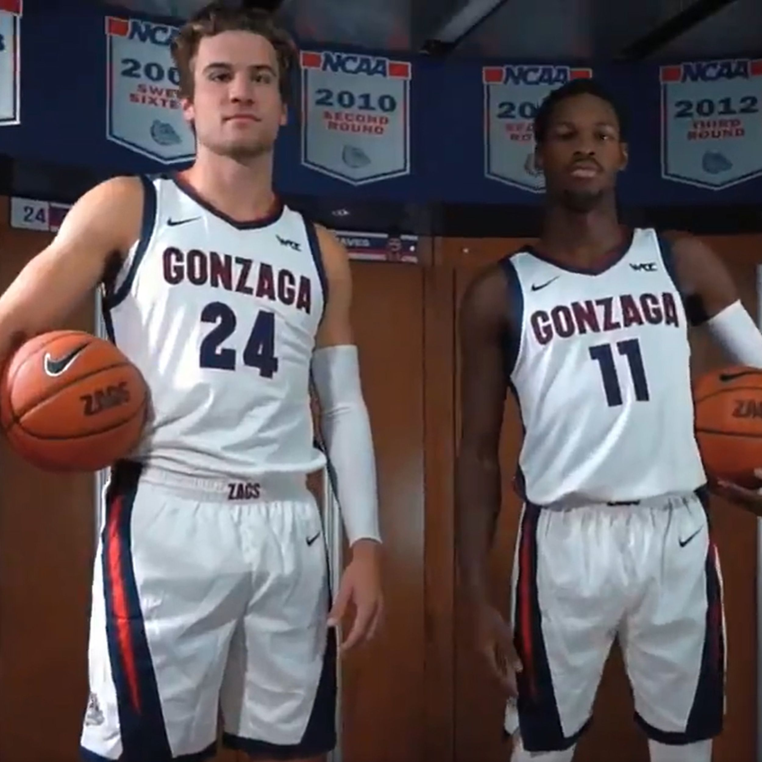 Gonzaga reveals new-look uniforms with new season approaching ...