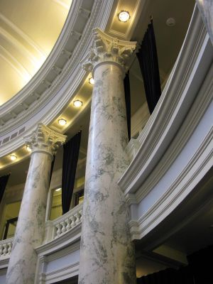 The Idaho House chamber, where on Friday, Feb. 23, 2018, one North Idaho representative's competing amendments derailed another North Idaho representative's bill. (Betsy Z. Russell / The Spokesman-Review)