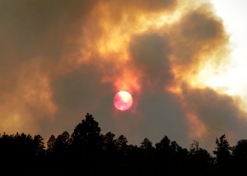 Most wildfires across the nation are human-caused. (Associated Press)