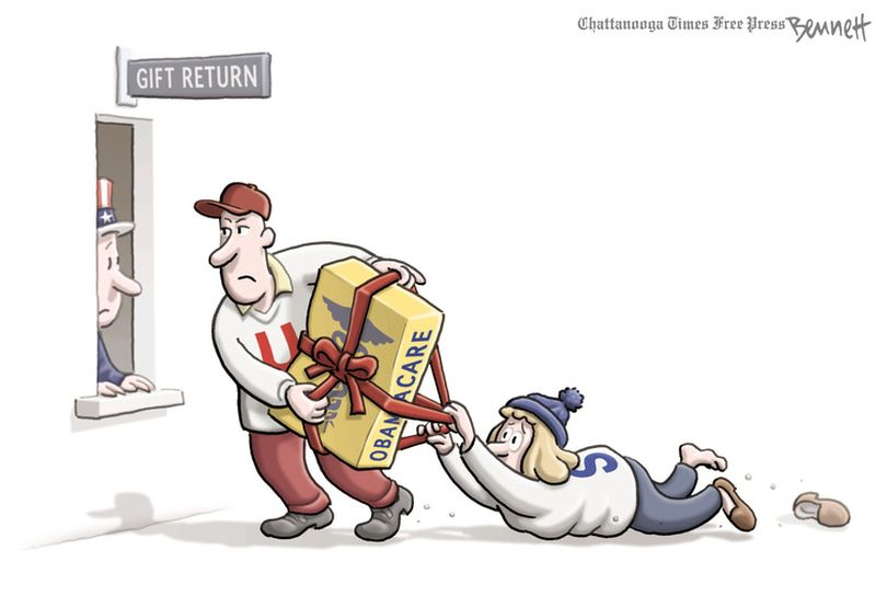 Clay Bennett, Chattanooga Times Free Press (Clay Bennett / Washington Post Writers Group)
