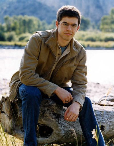 Author Christopher Paolini, 21, lives in Montana, with an incredible view of the Beartooth Mountains. He couldn't ask for a better source of inspiration for writing his trilogy.   (Perry Hagopian, courtesy of Random House / The Spokesman-Review)