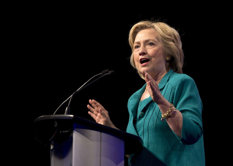 Hillary Clinton Slams Trump on Guns, Says I Will Not