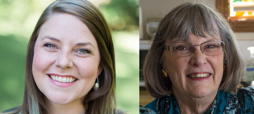 Kate Burke, left, is a legislative aide to state Sen. Andy Billig. Kathryn Alexander, right, has been an activist in the Bemiss neighborhood since moving to Spokane two years ago. Both women have already filed to compete for the City Council seat that will be vacated by Amber Waldref when she's termed out of office in 2017.  (Kate Burke, Kathryn Alexander)
