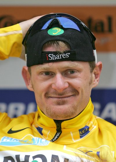 Floyd Landis was a cycling star at the 2006 Tour de France before doping allegations brought him down. For the first time he admitted on Thursday to cheating while also accusing several others, including Lance Armstrong.   (File Associated Press)