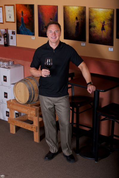 Tim Nodland of Nodland Cellars also works as a lawyer. He started making wine in 1999. The winery's biggest seller is Bad Attitude, an entry-level red.