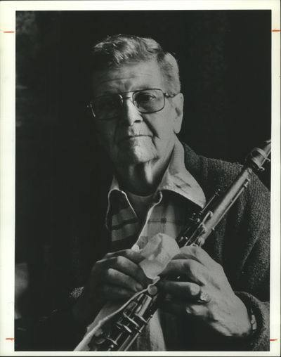 Musician Billy Tipton in an undated photograph.  (Seattle Times)