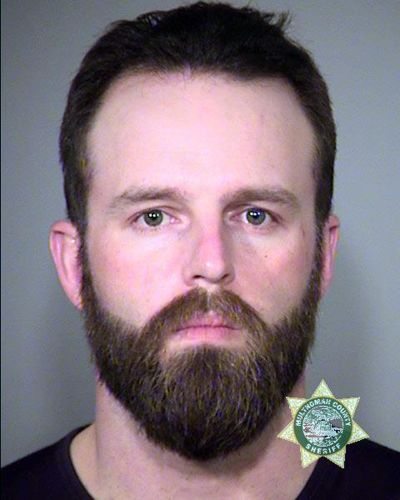 This Jan. 27, 2016, file photo, provided by the Multnomah County Sheriff's Office shows Ryan Payne. Payne, a key figure in the occupation of Oregon's Malheur National Wildlife Refuge. Payne has been sentenced to 3 years and a month in prison. (uncredited / AP)