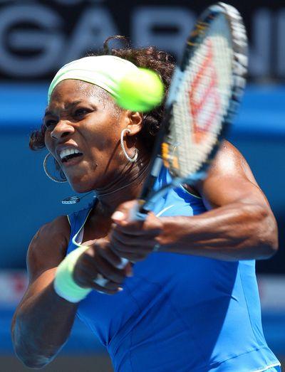 Serena Williams will face Victoria Azarenka in the fourth round.  (Associated Press / The Spokesman-Review)