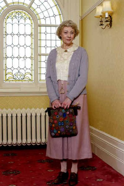 This promotional photo, provided by PBS Television, shows veteran British actress Geraldine McEwan as Agatha Christie's spinster sleuth Miss Marple in a new series of classic whodunits on PBS'