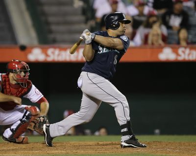 Kendrys Morales beat his former team on Tuesday. (Associated Press)