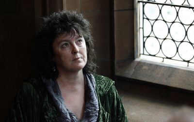 Writer and poet Carol Ann Duffy poses for photographs Friday,   after being named as Britain's poet laureate – the first woman to hold the post.  (Associated Press / The Spokesman-Review)