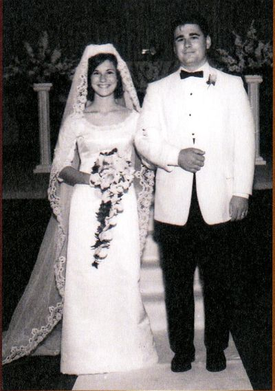 Gary and Louise Hansen on their wedding day, Sept. 16, 1966, in Oakesdale, Wash. (Courtesy photo)