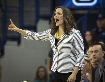 Lisa Fortier leads GU into NCAA tourney. (Colin Mulvany)