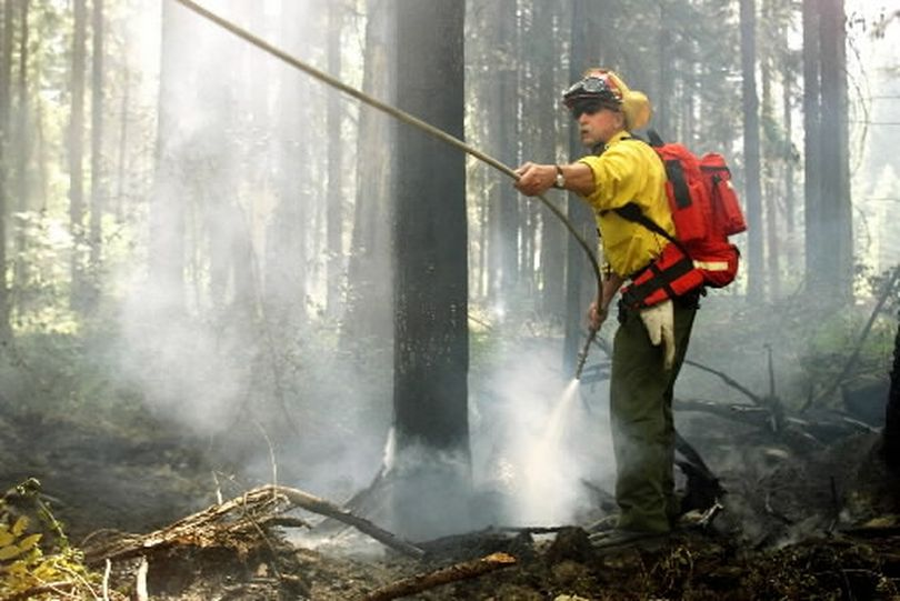 Washington and Idaho wildfire crews have plenty to do in 2015. (Associated Press)