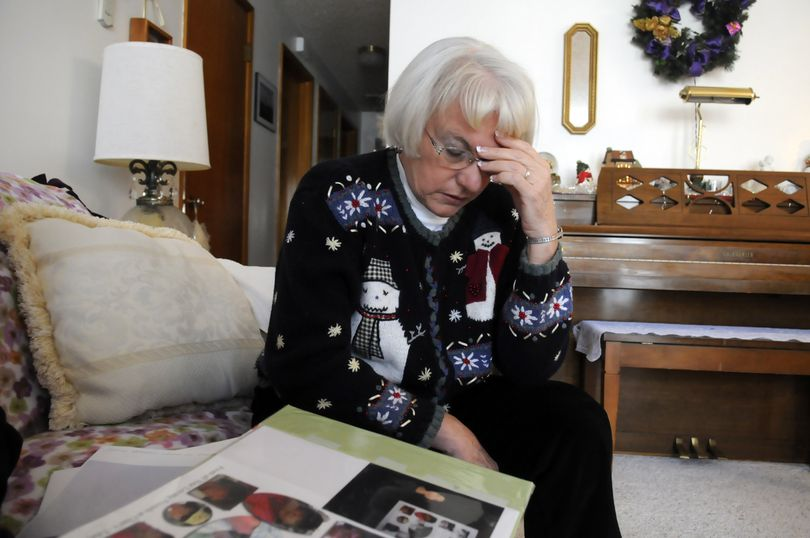 """""""I still have trouble with it on Mother's Day,""""  Vicky Littell said last week. Her daughter, Susette G. Werner, was struck and dragged to death, and the driver has never been identified. (Jesse Tinsley / The Spokesman-Review)"""
