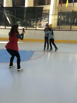 Public skating starts at 11 at the Ice Palace.